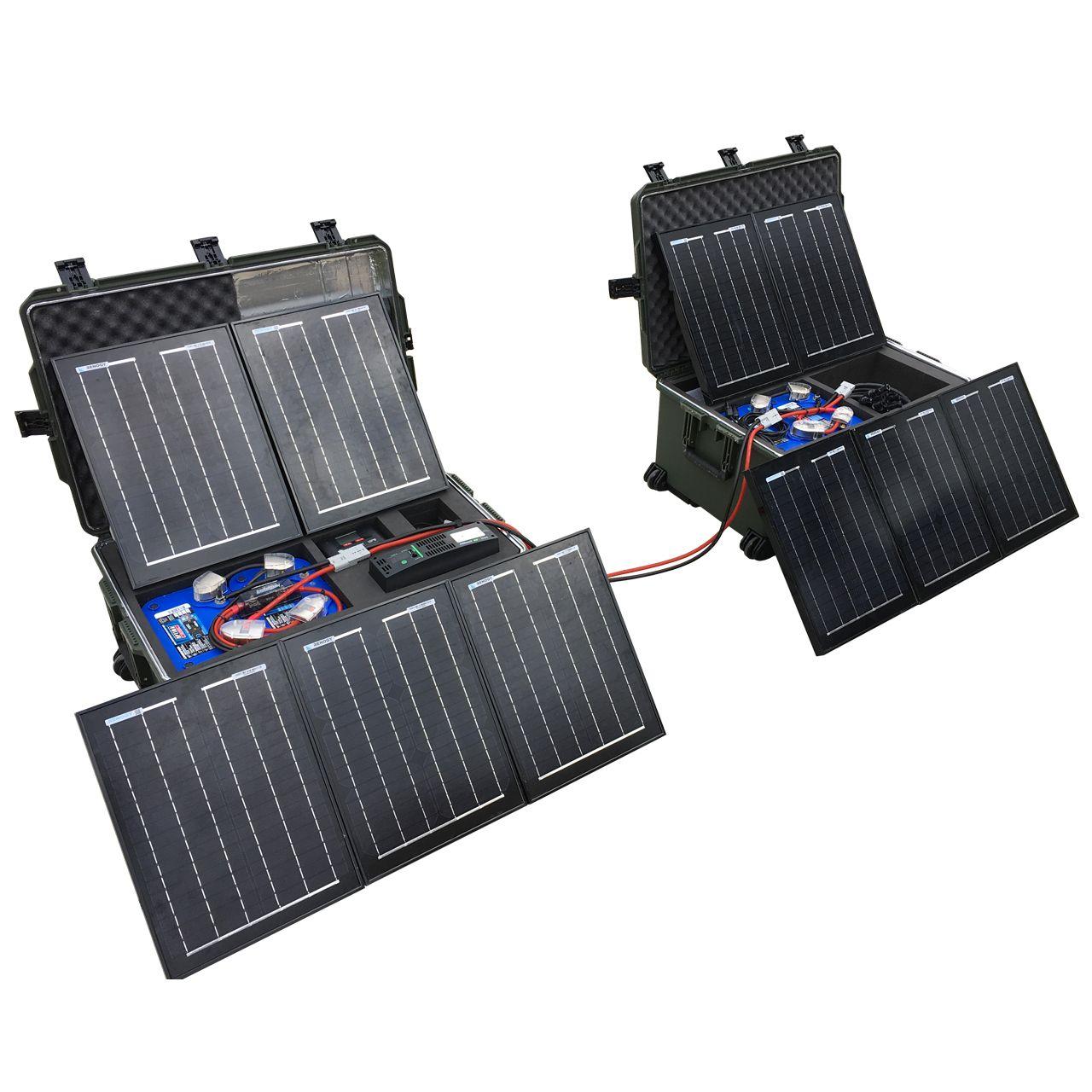 Ultimate Tactical Solar Power Generator Kit Always Empowered Solar Technology Solar Energy Solar Heating