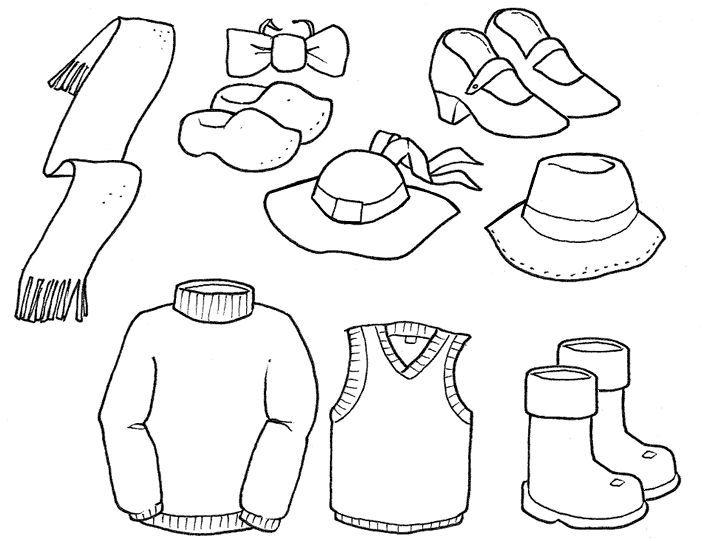 Resultado De Imagen Para Dibujos De La Ropa De Las Estaciones Revista Maestra Infantil Ropa Dibujo Imagenes De Ropa Dibujos Para Colorear