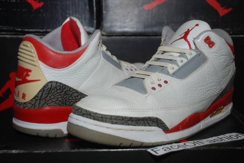 low priced 11376 b3584 Air Jordan 3 Original - Fire Red