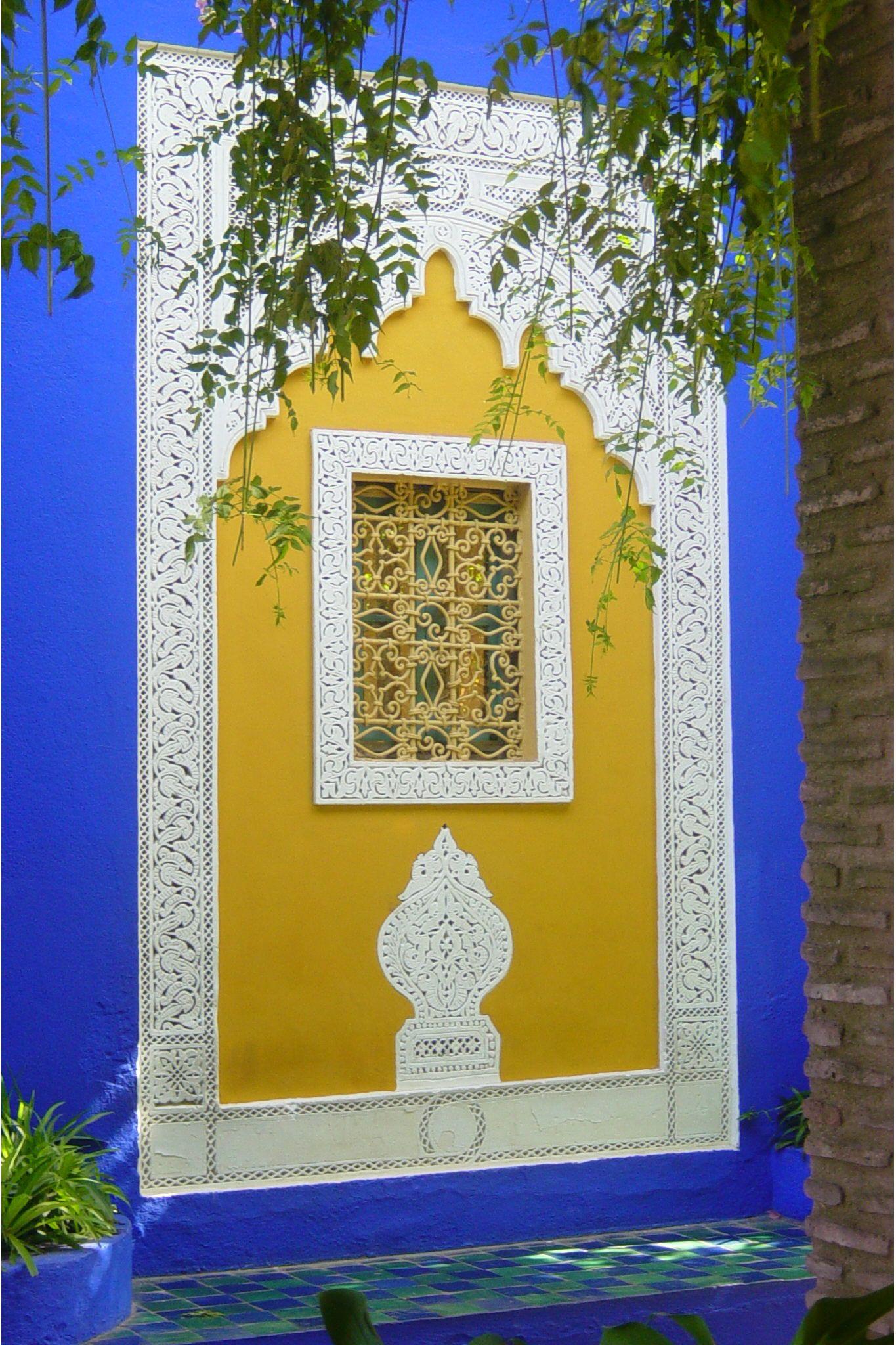 Jardin Majorelle Marruecos Morocco Entrance Doors Doors Entrance