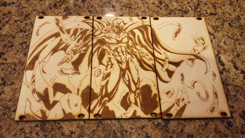 3u eurorack blank panel laser cut acrylic or plywood custom etching