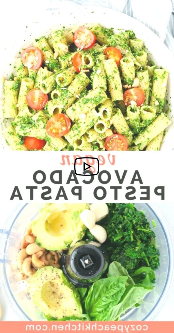Vegan Avocado Pesto Pasta, avocado pesto pasta is a quick and easy way to get in your greens. Made in less than 15 minutes, this flavorful recipe is packed with nutrients ...