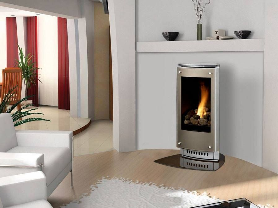 This Heat Glo Paloma Gas Stove Artfully Blends European Styling With Advanced Engineering Elegant Small Gas Fireplace Freestanding Fireplace Gas Fireplace