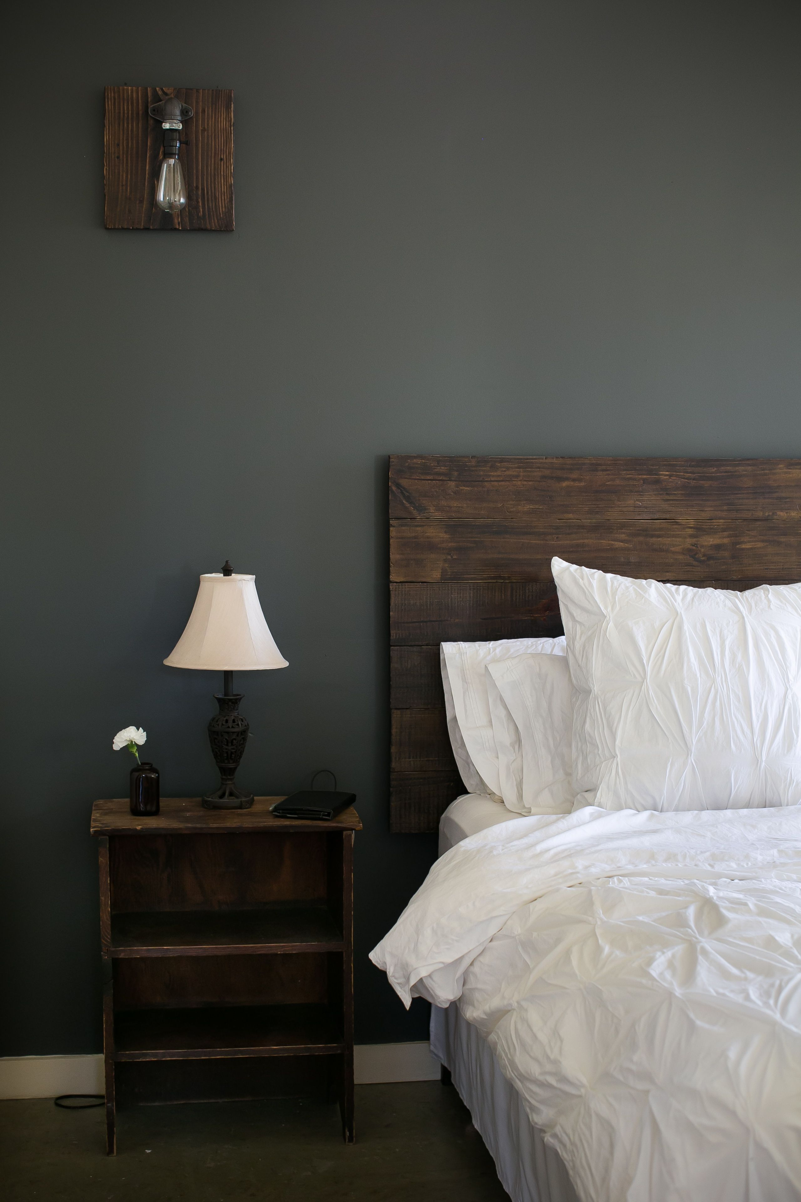 My Bedroom Is Finally Finished I Am In Love Reclaimed Wood