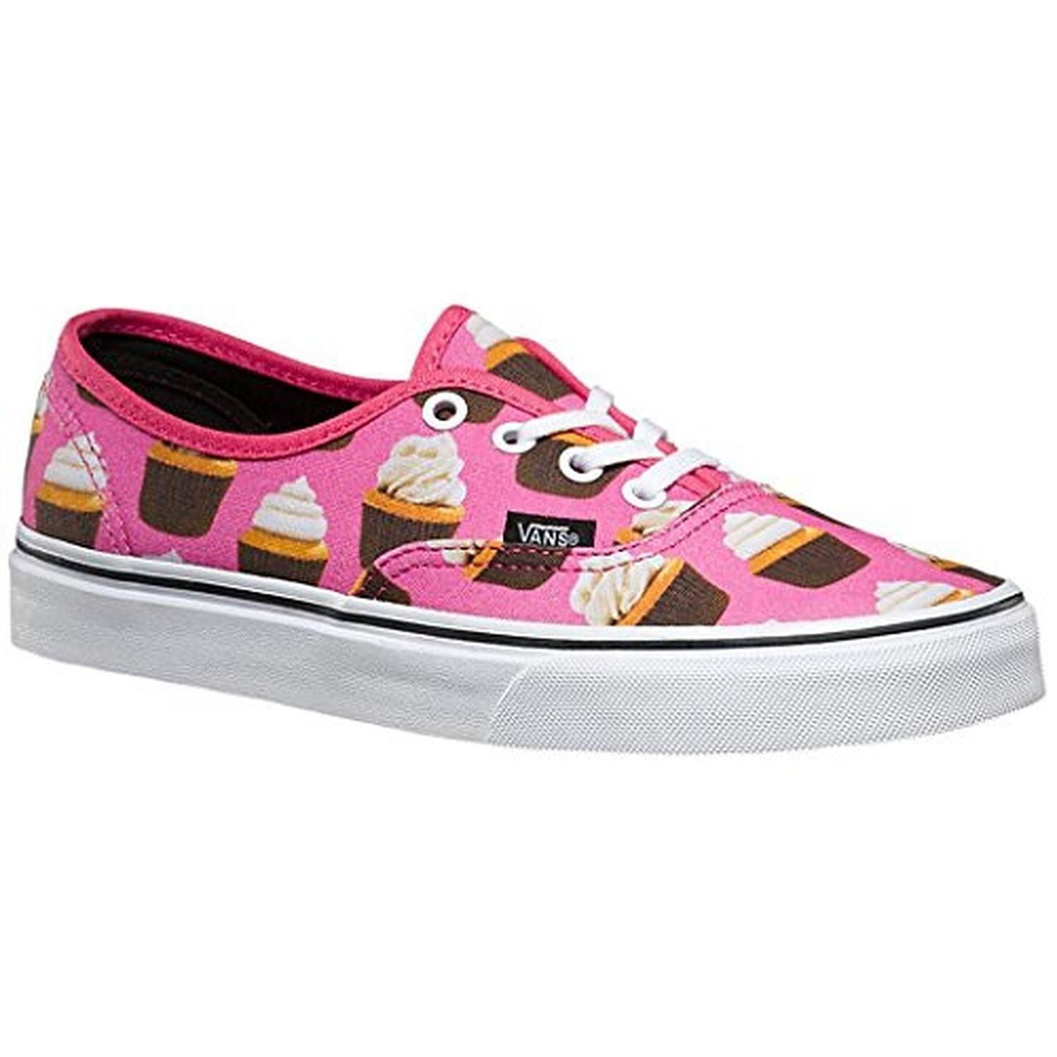 Vans Authentic Late Night Hot PinkCup Cakes Mens 7 Women's