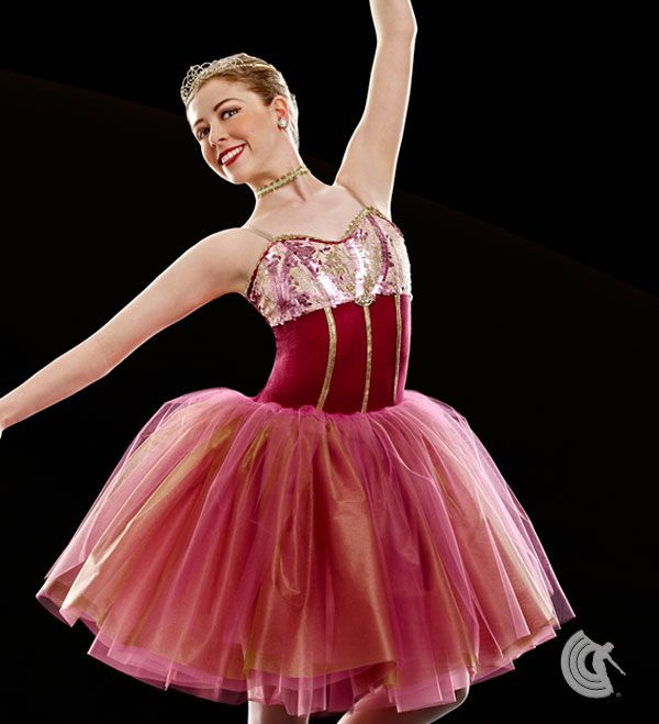 Curtain Call Costumes Open Arms Contemporary Dance Costume