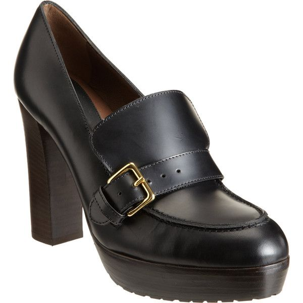 High-heeled loafers Marni 0I0mn1