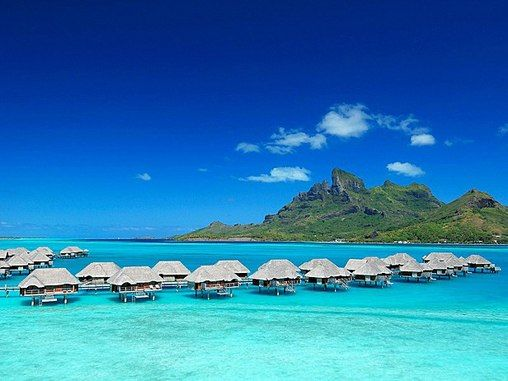 Have my own hut on the water in Bora Bora!