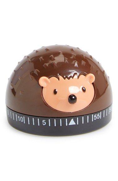 Kikkerland Design Hedgehog Kitchen Timer Nordstrom Kitchen Timers Hedgehog Hedgehog Gifts
