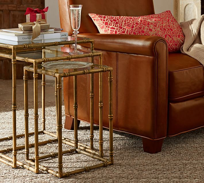 Tabulous Design: Nesting Tables From Pottery Barn