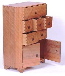 The Butterfly Joint The Woodworkers Institute Pinteres