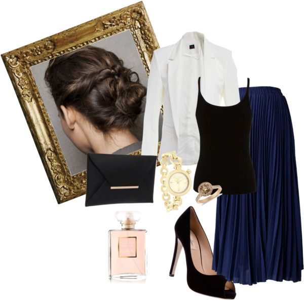 """Clássico"" by annaluizealmeida on Polyvore"