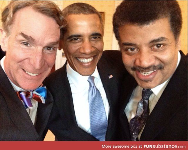 Possibly the greatest selfie ever taken