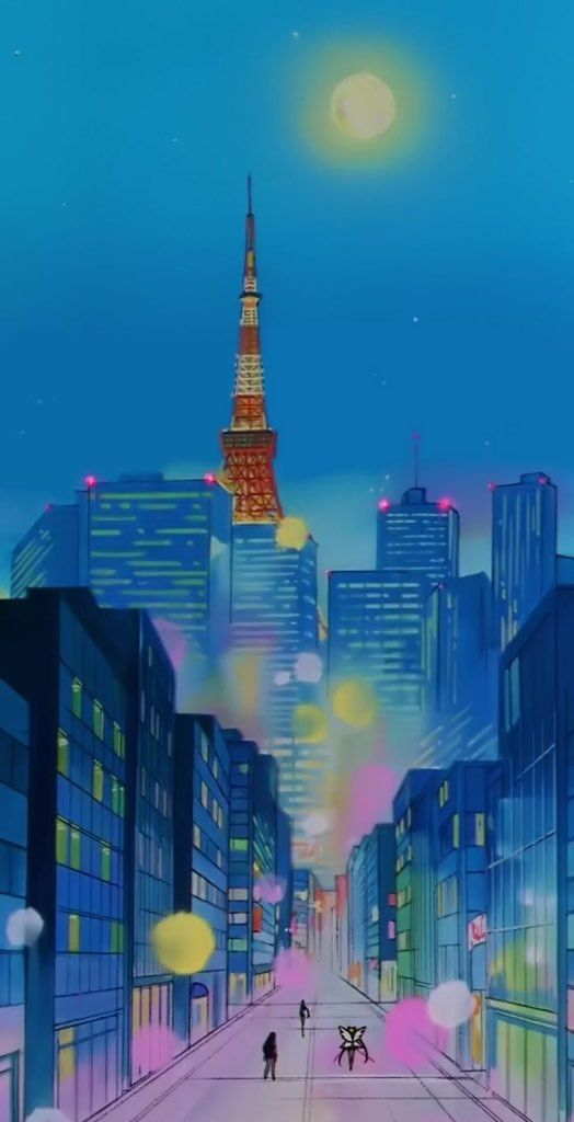 The Sailor Moon Backgrounds Are So Vibeyyy Sailor Moon Sailor Scouts Sailor Moon Crystal Sailor moon iphone xr wallpaper
