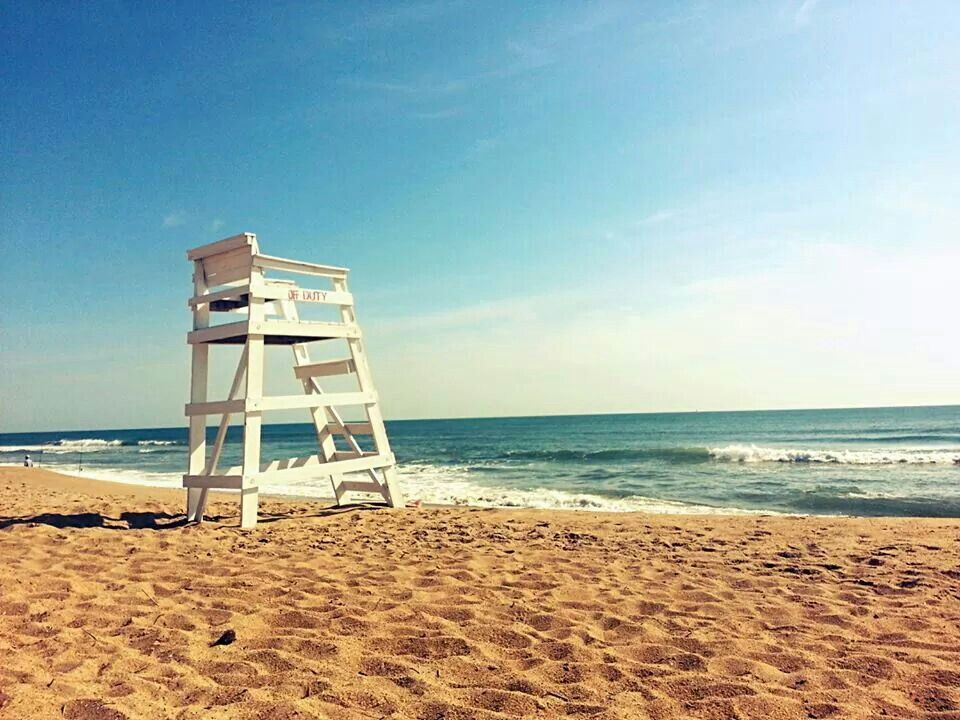 Nags Head Lifeguard Stand www.outerbanksrentals.com | The Scenic ...