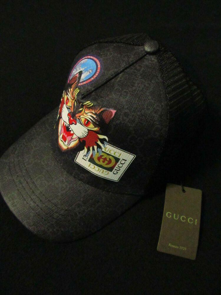 Gucci Cap Tiger Black  fashion  clothing  shoes  accessories   mensaccessories  hats (ebay link) e14cfbfcd00