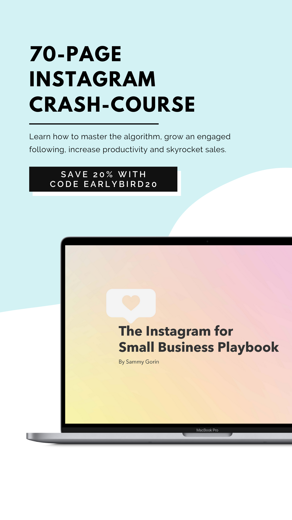 Ebook The Instagram For Small Business Playbook In 2020 Instagram Advertising Instagram Business Instagram Algorithm