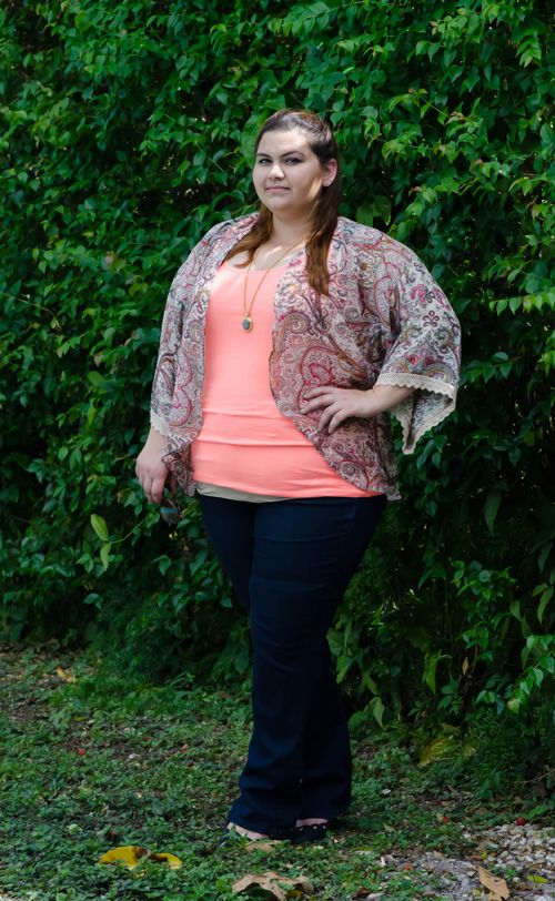 Not your daughters jeans straight leg on plus size fashion blog Kirstin Marie