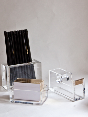 Love A Chic Desk. Lucite U0026 Acrylic Desk Accessories From $26. @Taigan Penny