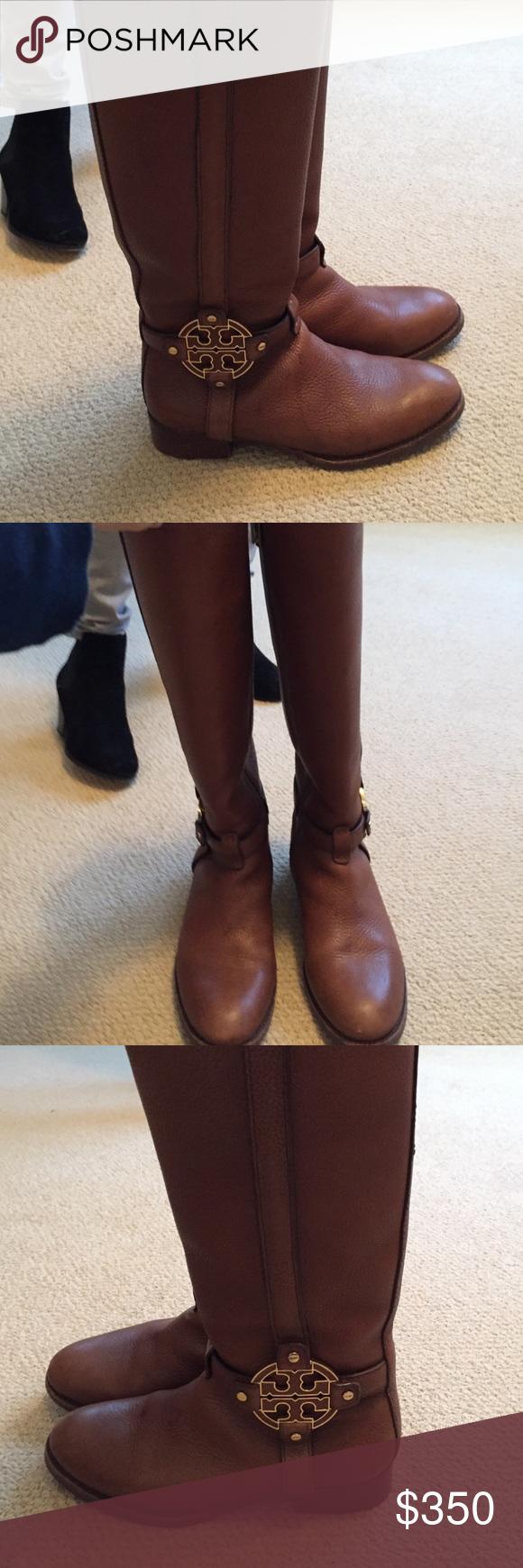 Tory Burch brown riding boots Brown Tory Burch riding boots size 7 Tory Burch Shoes Heeled Boots