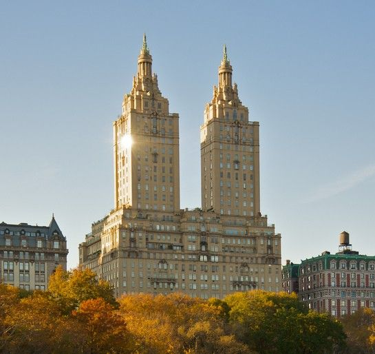 Central Park Apartments New York: Emery Roth's Iconic San Remo Apartments, Built In 1930