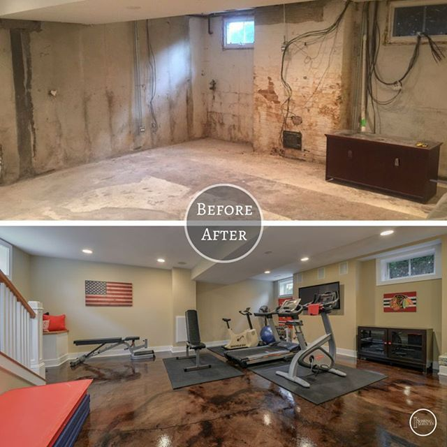 Such A Transformation For This #hinsdale Basement