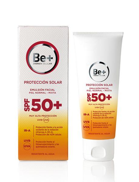 Be+ Emulsión Facial SPF 50+ Piel Normal/Mixta - Be+ 2.0