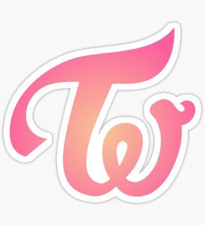 Twice Kpop Stickers Kpop Logos Twice Logo Sticker