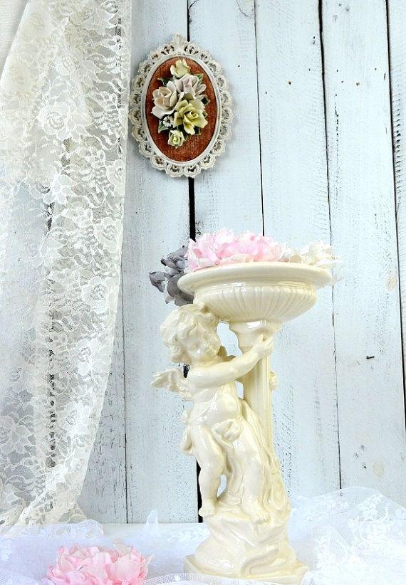 Capo di Monte Italian Wall Decor, Capodimonte Floral Rose ...