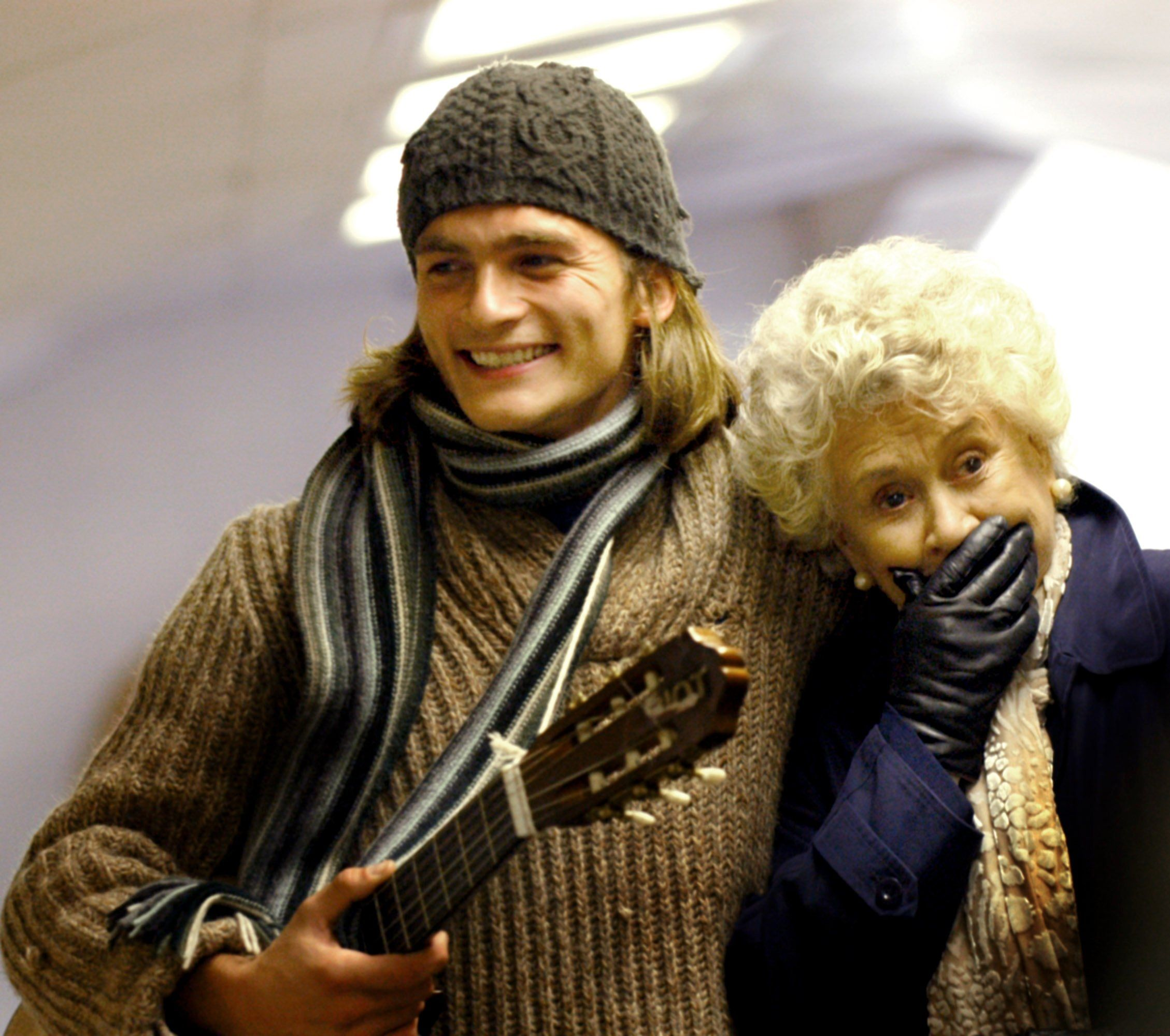 rupert friend and dame joan plowright in quotmrs palfrey at