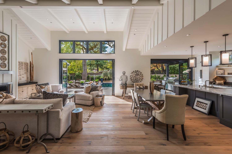 Delightful Breathtaking Modern Farmhouse Style Retreat In Napa Valley