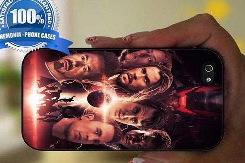 Avengers Poster  Black Case For Iphone 6