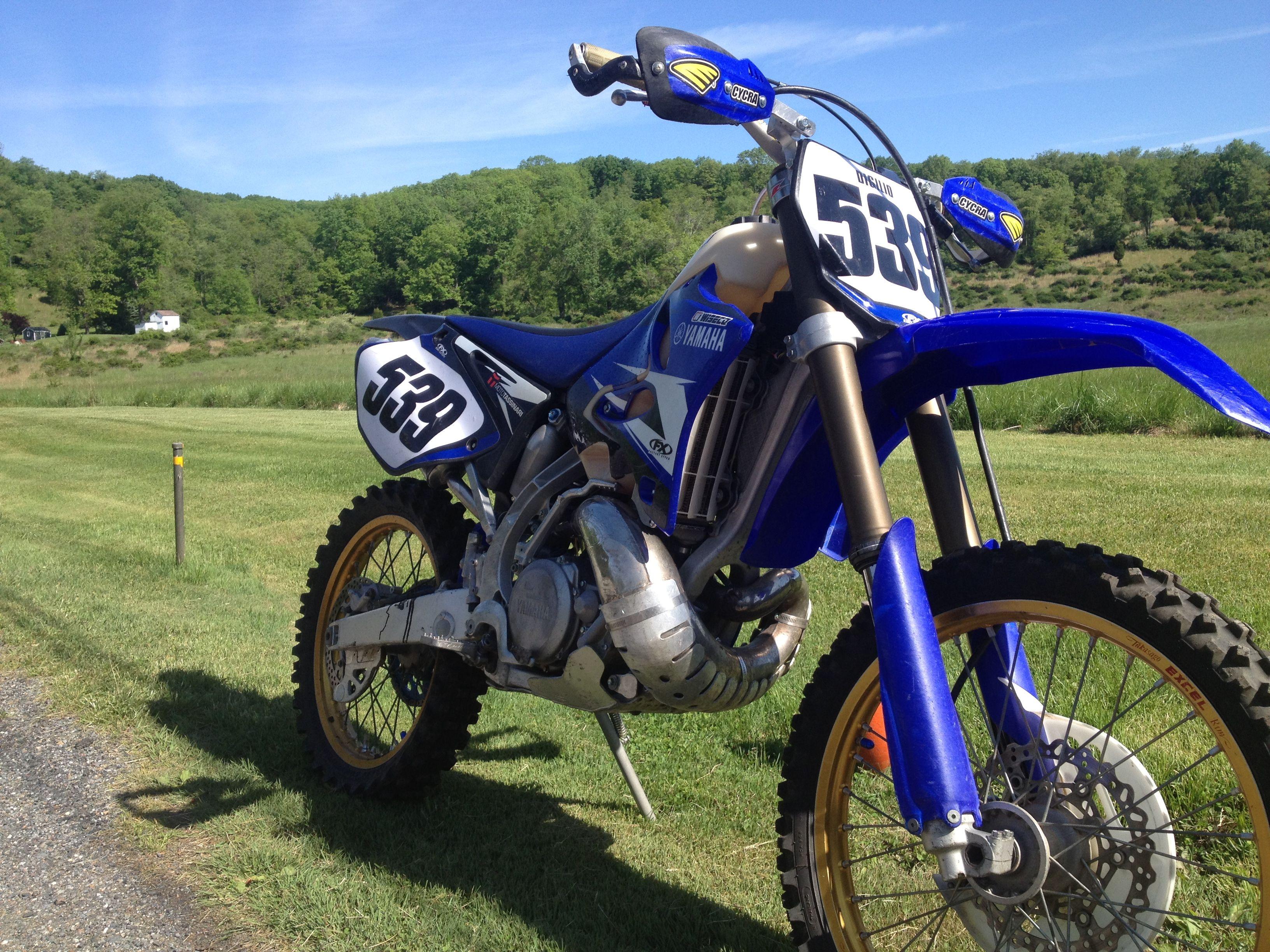 My 08 Yz 250 Dirtbikes Dirt Bikes Bike