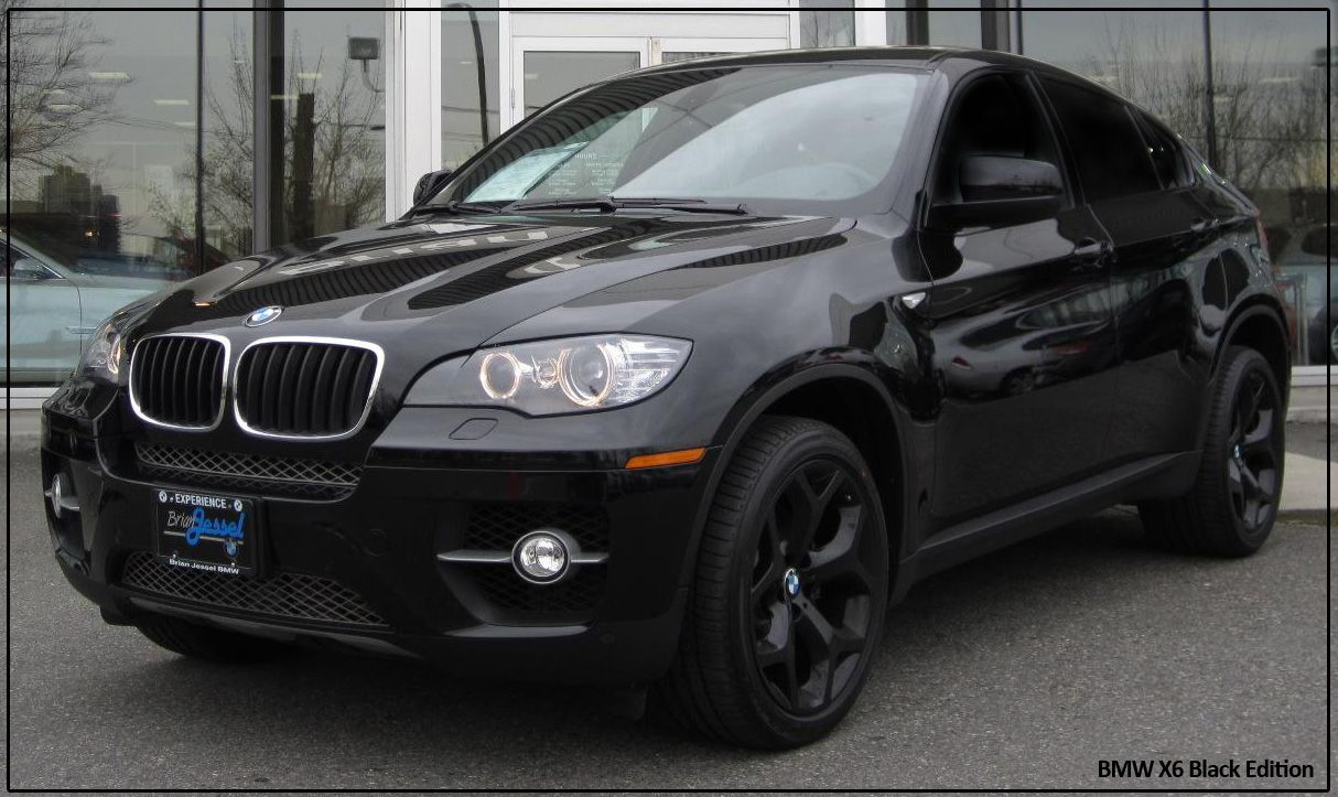 Aron Scraba S New Bmw X6 Black Edition Twin Turbo One Of Only 40