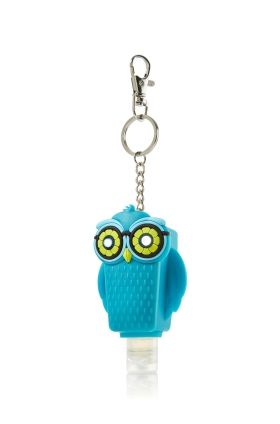 Bright Eyed Blue Owl Pocketbac Holder Bath Body Works Bath