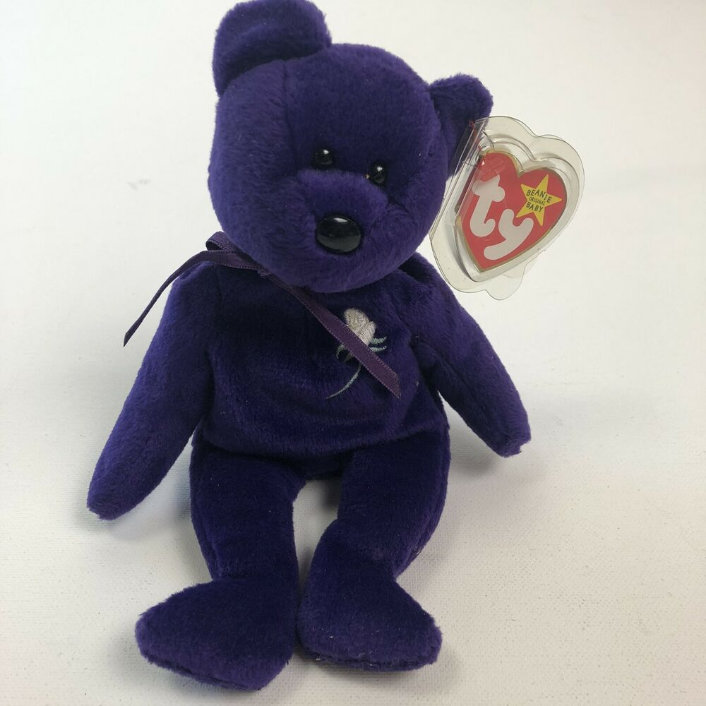 Ty Princess Diana Beanie Baby 1st Edition 1997 Made In China P E