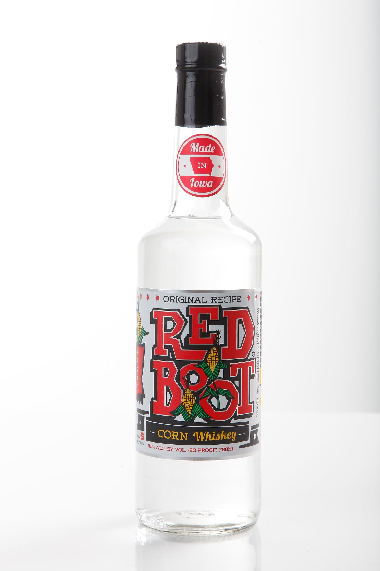 Dehner Shop Red Boot Corn Whiskey From Dehner Distillery 19 99 At