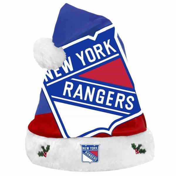 dee30b43473 Buy New York Rangers Basic Santa Hat at  19.99  NewYorkRangers  Basic   SantaHat
