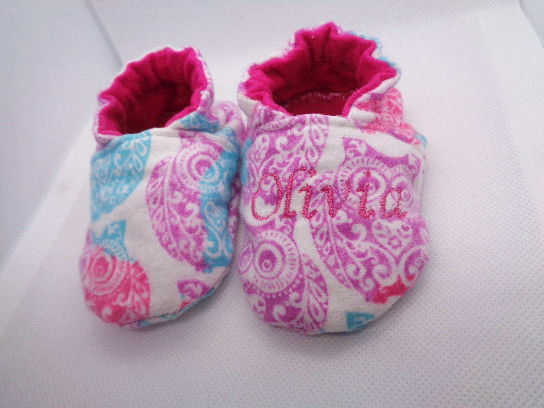 42080fd0e09d Owl Baby Shoes