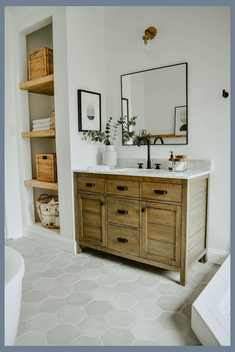 Modern Eclectic Bathroom Remodel Basic Bathroom Remodel