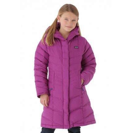 2634d0d32bae Patagonia Girls Down Coat (Ikat Purple)