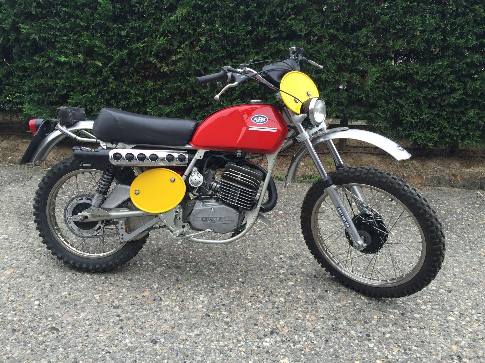 1973 Ktm Gs 125 Ktm Ktm Motorcycles Motorcycle Dirt Bike