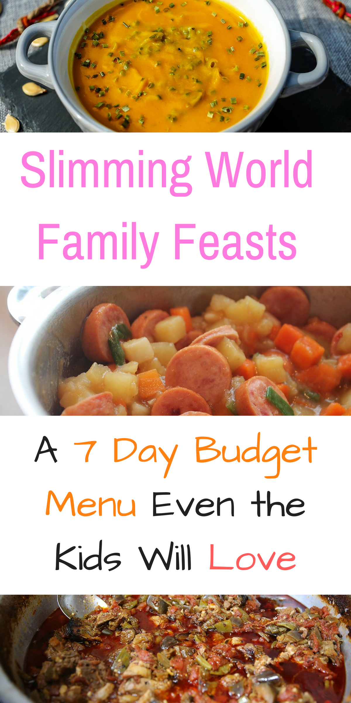 Slimming World Meal Plan: 7 Days of Cheap Slimming World Meals