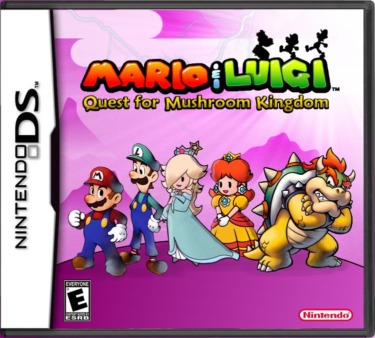mario luigi rpg 4 | mario | Mario party games, Ds games