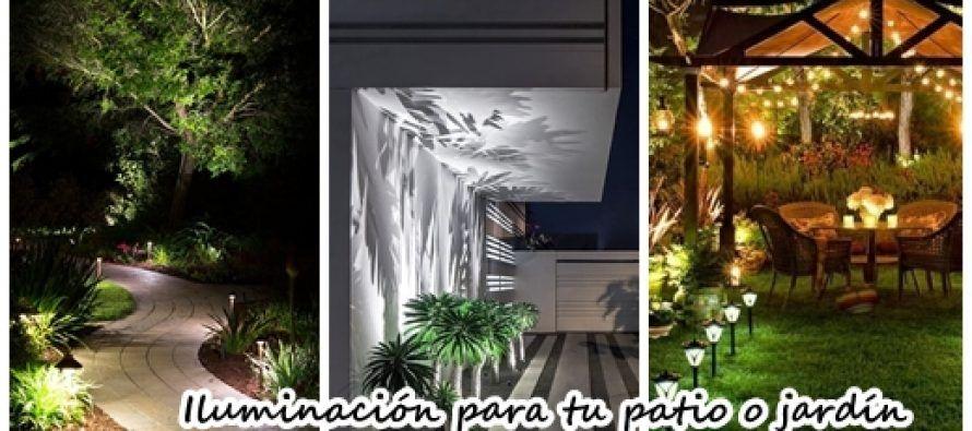 24 fabulosas ideas de iluminación para el patio o jardin Patios