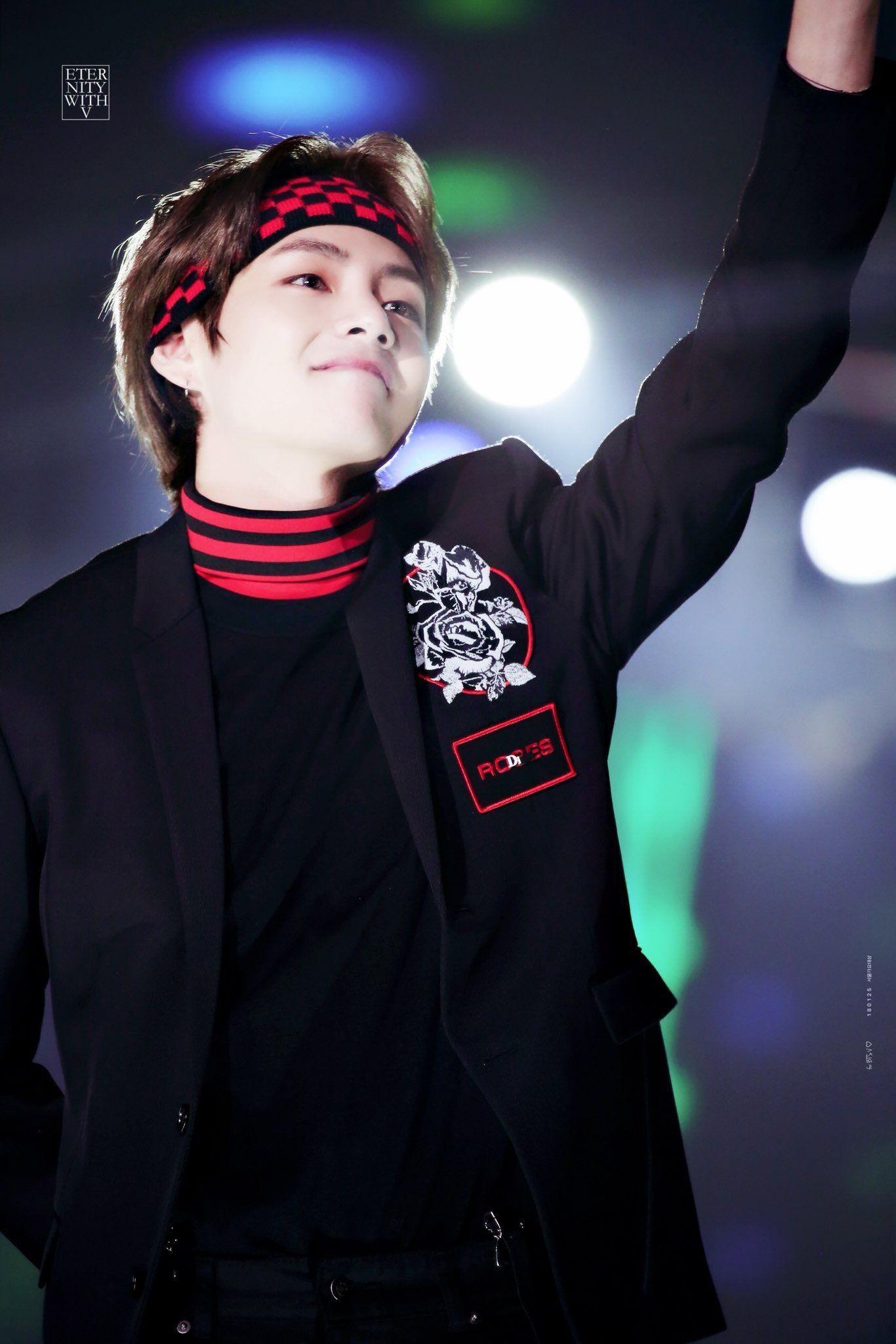 180125 27th Seoul Music Awards 2018 V Taehyung Bts