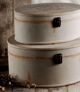 Hatboxes are ideal for display and storage in any style home!