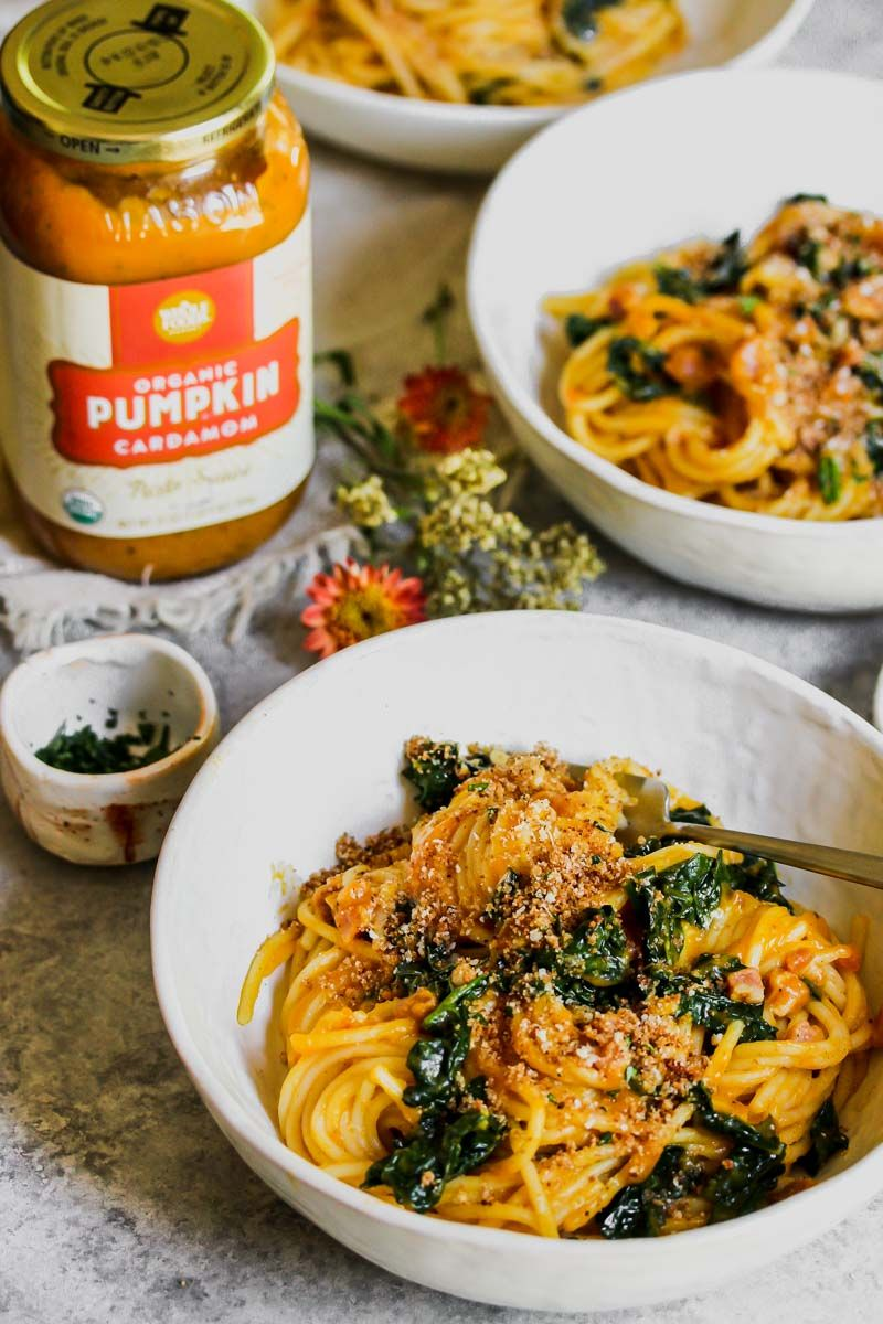 Fall Pumpkin Cardamom Pasta Whole Food Recipes Cold Pasta Dishes Whole Foods Market