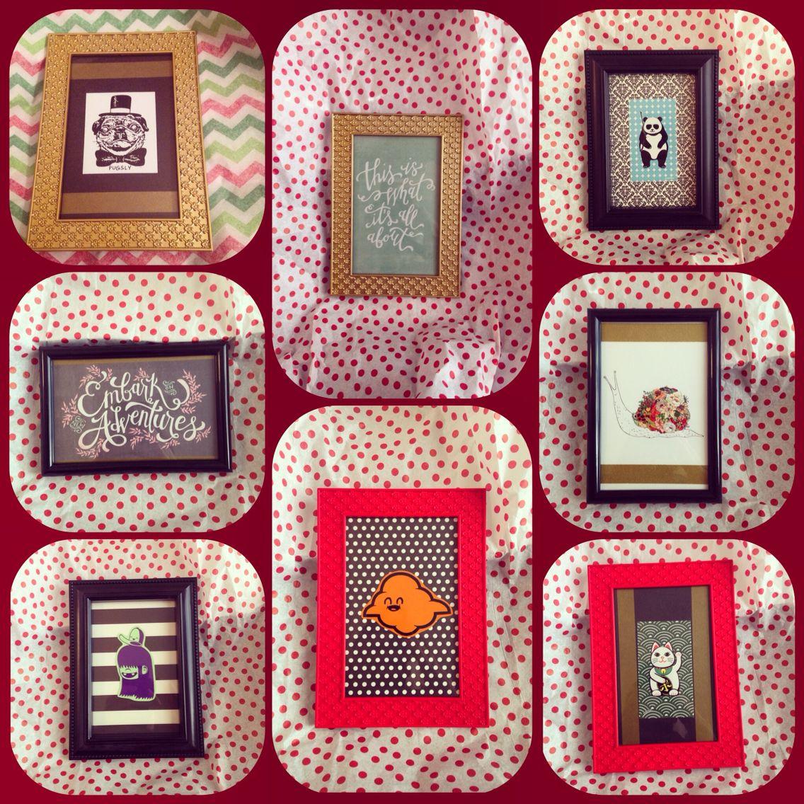 #diy #frames #mrspinkertons