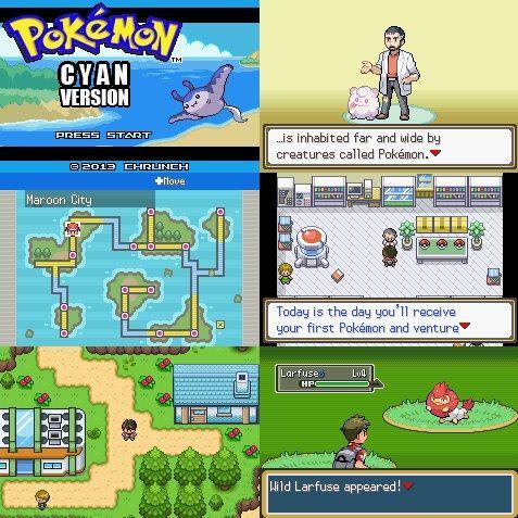 Pokemon cyan download zip